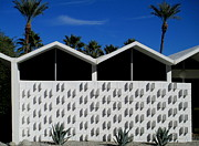 Architeture Prints - Palm Springs Park Imperial South Print by Randall Weidner