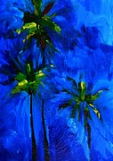 Buy Art Online Posters - Palm Trees Abstract Poster by Patricia Awapara