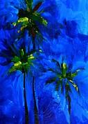 Palm Trees Abstract Print by Patricia Awapara