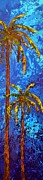 Poster Art Originals - Palm Trees II by Patricia Awapara