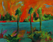 Elizabeth Fontaine-Barr - Palm Trio Sunset