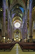 Teruel Prints - Palma De Majora Cathedral. Ca Print by Everett