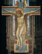Christ On Cross Photos - Palmerino Di Guido, Crucifix, 1300 by Everett