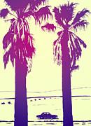Palms Print by Giuseppe Cristiano