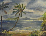 Annette Forlenza-Ryan - Palms on the Beach