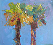 Ski Art Originals - Palmtrees  by Olesia Lishaieva