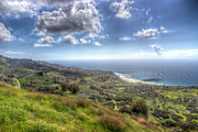 Green Bay Framed Prints - Palos Verdes Peninsula HDR Framed Print by Heidi Smith