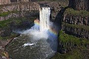 Beauty Mark Art - Palouse Falls by Mark Kiver