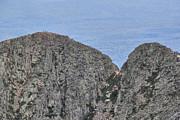Pamola And Chimney Peaks Print by Lori Deiter
