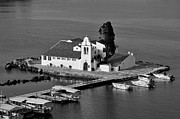 B W Photos - Panagia Vlachernon chapel  by George Atsametakis