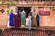 Tlaquepaque Village Prints - Panara Boutique Sedona Print by Tom Singleton