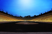 Stadium Digital Art - Panathenaic Stadium by Christos Dimou