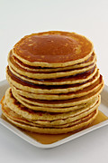 Diner Photos - Pancakes with syrup by Gert Lavsen