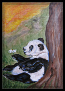 Children Day Drawings - Panda - Best Day Ever by Ella Kaye