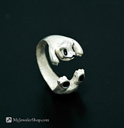 Bear Jewelry - Panda Ring by Nicholas Damario