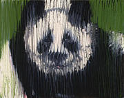 Panda Mixed Media - Panda by Scott Lindner