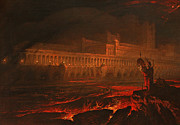 Soldier Paintings - Pandemonium by John Martin