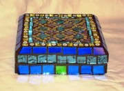 Jewelry Glass Art - Pandora box - Sold by Robin Miklatek