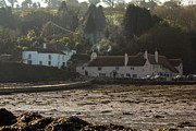 Cornwall Prints - Pandora Inn Low Tide Print by Brian Roscorla