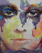 Surrealist Portrait Framed Prints - Pandora Framed Print by Michael Creese