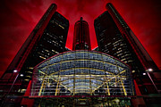 Headquarters Digital Art Originals - Panic In Detroit by Gordon Dean II