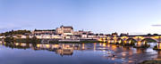 Loire Valley Prints - Panorama of Amboise Loire Valley France Print by Colin and Linda McKie