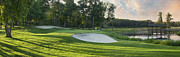 Dan Thornberg - Panorama of golf green...