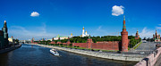 Archangel Photo Prints - Panorama of Moscow Kremlin in summer morning - Featured 3 Print by Alexander Senin