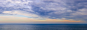 Calm Sky Framed Prints - Panorama of sky over water Framed Print by Elena Elisseeva