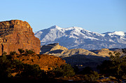 Panorama Mountain Images Prints - Panorama Point Capitol Reef National Park Utah Print by Jason O Watson