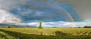 Rainbow River Photos - Panorama Rainbow by James Wheeler