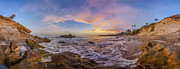 Photographer Metal Prints - Panorama The whole way round the cove Metal Print by Scott Campbell