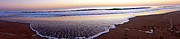 Fenwick Island Posters - Panoramic Beach Poster by Mackenzie Fell