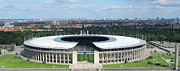 Art Photography Prints - Panoramic Berlin Olympic Stadium Print by Art Photography