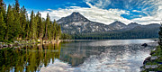 Awesome Prints - Panoramic Of Anthony Lake Print by Robert Bales