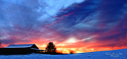 All - Panoramic Sunset by Darlene Bell
