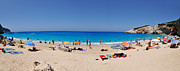 Greek Photos - Panoramic view of Porto Katsiki beach by George Atsametakis