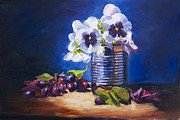 Lighting Originals - Pansy and Grapes by David Gorski