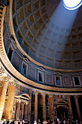Pantheon Framed Prints - Pantheon Interior Framed Print by Brian Jannsen