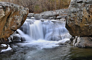 Trout Stream Landscape Prints - Panther Falls Print by Todd Hostetter
