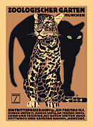 Vector Prints - Panther Print by Gary Grayson