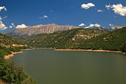 Gunnison Prints - Paonia Reservoir  Print by Adam Jewell