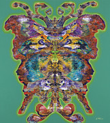 Butterfly Originals - Papalotl Series Vlll by Ricardo Chavez-Mendez