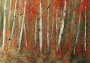 Birch Trees Art - Paper Birch by Jani Freimann