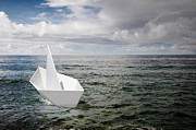 Idea Photos - Paper Boat by Carlos Caetano