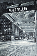 Downtown Appleton Prints - Paper Valley Print by Joel Witmeyer