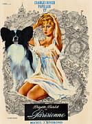 Papillon Art - Una Parisienne Movie Poster Print by Sandra Sij