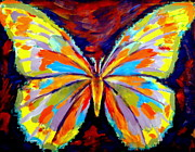Original For Sale Prints - Papillon colore Print by Helena Wierzbicki