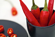 Food And Drink Originals - Paprika by Sviatlana Kandybovich