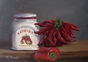 Pepper Greeting Card Prints - Paprika Print by Viktoria K Majestic